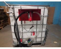 Комплект для перекачки топлива на базе еврокуба (RE SL012-1-220V)