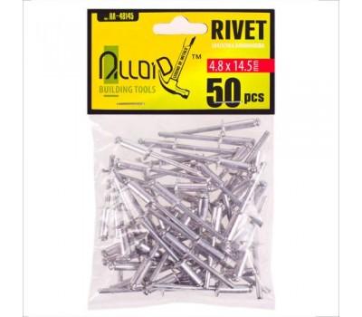 Заклепка алюминиевая 4,8х14,5мм, 50шт (RA-48145) ALLOID