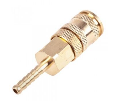 Быстроразъемное соединение на шланг с фиксатором. 06 мм. (ПМ-2SH) (ПМ-2SH) ALLOID