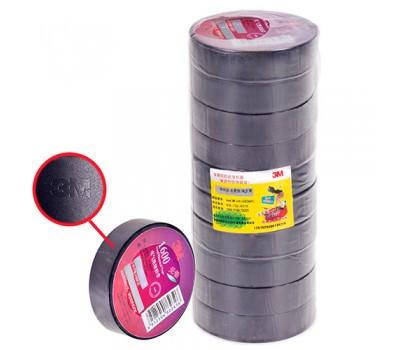 Изолента 3М 18мм*10м*0,13мм Black (3М 1500) 3М