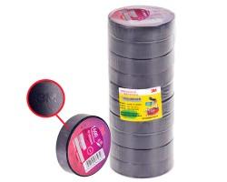 Изолента 3М 18мм*20м*0,15мм Black (3М 1600) 3М