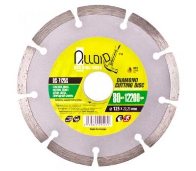 Диск алмазный отрезной сегментный 125 мм (DS-7125S) ALLOID