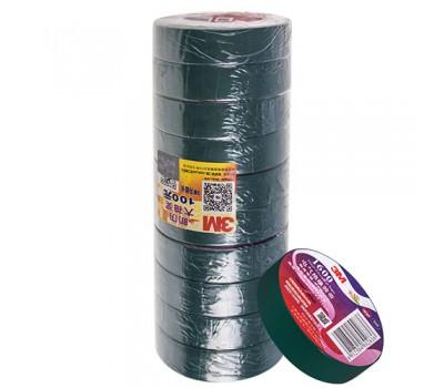 Изолента 3М 18мм*20м*0,15мм Green (3М 1600) 3М
