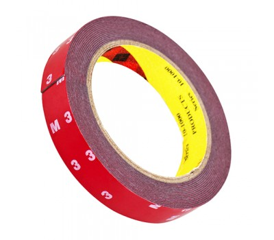 Лента липкая двухсторонняя 3М 20мм*0,8*5м/серая (3М) 3М