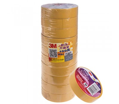 Изолента 3М 18мм*20м*0,15мм Yellow (3М 1600) 3М