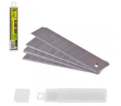 Лезвия сегментные 18 мм, пластиковый пенал 10шт (НП-1805) ALLOID