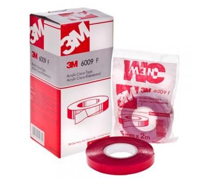 Лента липкая двухсторонняя 3М/6008F- 8мм*0,8*2м/красная (3М 6008F) 3М