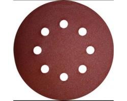 Абразивные круги на липучке 8+1 отв. Р-120 Серия- F (Р-120 Серия- F)