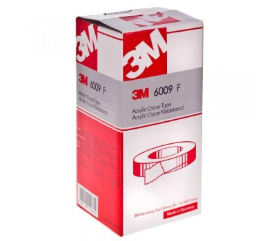 Лента липкая двухсторонняя 3М/6009F- 8мм*1м/прозрачная (3М 6009F) 3М