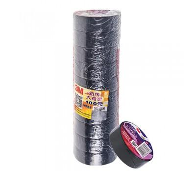 Изолента 3М 17мм*18,3м*0,12мм Black (3М 1200) 3М