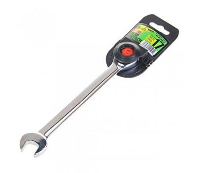 Ключ комбинированный трещоточный 17 мм.