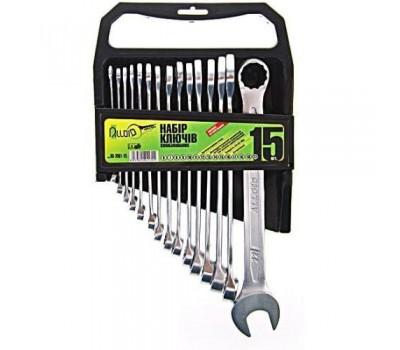 Набор ключей комбинированных. 15 предметов.6-22 мм.