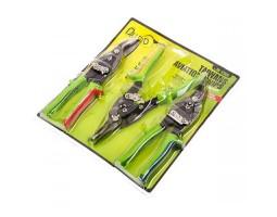 Набор ножниц по металлу 3 предмета (НМ-112003Н)