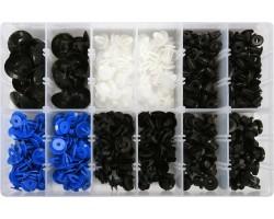 Набор креплений для автосалонной обшивки OPEL YATO, 300 шт. (YT-06652)