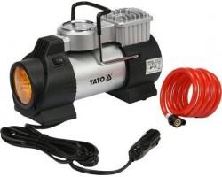 Компрессор автомобильный 180 Вт со светодиодной лампой YATO (YT-73460)