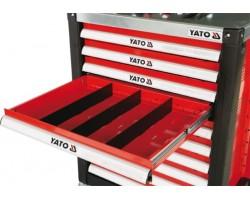 Перегородки для ящика YATO большие, 391x128x4 мм (YT-0911)
