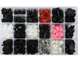 Набор креплений для автосалонной обшивки TOYOTA, LEXUS YATO, 360 шт. (YT-06650)