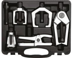 Комплект съемников рулевой тяги и шаровых опор автомобиля YATO 6 шт. (YT-06157)