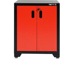 Шкаф для мастерской 660x457x863 мм YATO 1 полка (YT-08934)