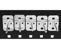 Набор крючков для перфорированной панели YT-08936 YATO 5 шт. (YT-08937)