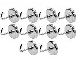Набор магнитные крючков YATO 10 шт. (YT-08690)