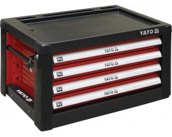 Шкаф для мастерской с 4 полками YATO для стола YT-08920, 690х465х400 мм (YT-09152)