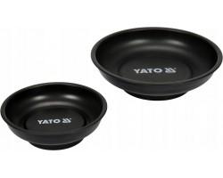Набор мисок магнитных круглых YATO 150 и 108 мм, 2 шт (YT-08302)