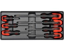 Набор инструментов в ложементе YATO отвертки 7 шт. (YT-5536)