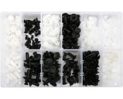 Набор креплений для автосалонной обшивки MITSUBISHI YATO, 370 шт. (YT-06659)