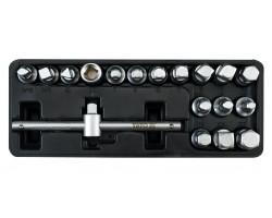 Набор ключей для сливной пробки YATO 18 шт (YT-0599)