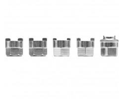 Набор насадкок для амортизаторов YATO, 5 шт. (YT-0621)
