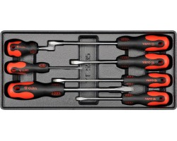 Набор инструментов в ложементе YATO отвертки 7шт. (YT-5535)