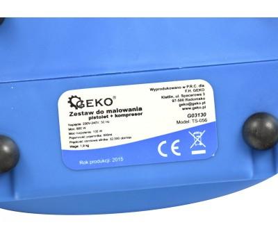 Набор для покраски пистолет+ компрессор GEKO G03130