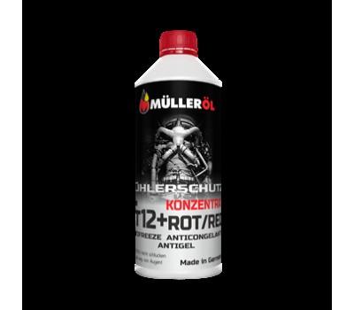 Жидкость охлаждающая MÜLLER АС концентрат G12+ красный 1,5л.
