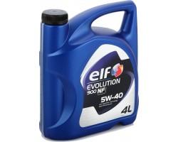 Масло моторное ELF Evolution NF 900 5W-40 4л.