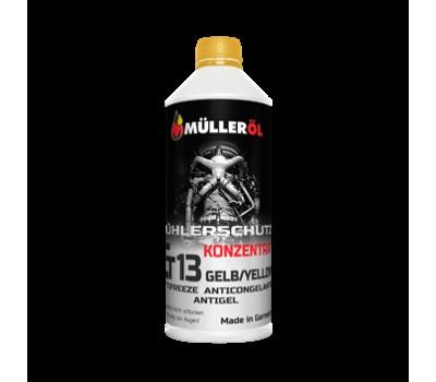 Жидкость охлаждающая MÜLLER АС концентрат G13 желтый 1,5л.