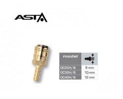 Быстросъем 12 мм 1/4 ASTA OC40H/B