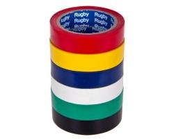 "Изолента PVC 30м ""RUGBY"" ассортимент"
