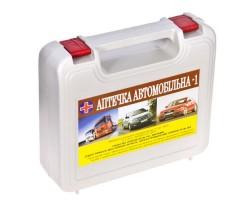 "Аптечка ""Автомобильная - 1"" АвтоПрофи АМА-1 серый футляр охлаждающий контейнер"