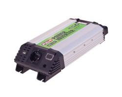 Преобразователь напряжения PULSO/IMU-1020/12V-220V/1000W/USB-5VDC0.5A/син.волна/клеммы