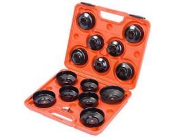 Комплект чашек для съёма масляных фильтров 15 предметов (WT04017)