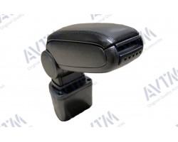 Подлокотник Nissan Juke (2010-) черный AVTM (450086031)