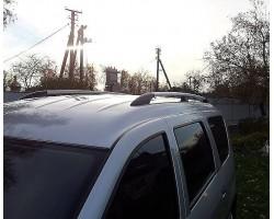 Рейлинги Dacia Logan MCV 2004-2012/ВАЗ Largus 2011- /Серый /Abs DDTS (DDCNR03)