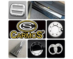 Накладка на пороги Mazda 6 2002-2007 4шт Carmos (6450087)