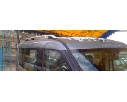 Рейлинги Fiat Doblo (2010-) /оригинальн Crown, Черные Can Automotiv (FIDO.73.0632)