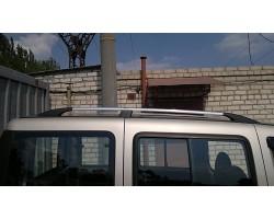 Рейлинги Fiat Doblo 2000-2010;2010- /коротк.база /Хром /Abs DDTS (DDCNR16)