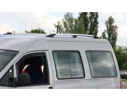Рейлинги Peugeot Expert /Citroen Jumpy /Fiat Scudo 95-07 коротк.база /Хром /Abs DDTS (DDCNR23)