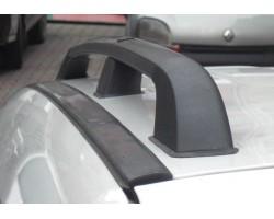 Рейлинги Renault Kangoo 2008- /Черный /Abs DDTS (DDCNR70)