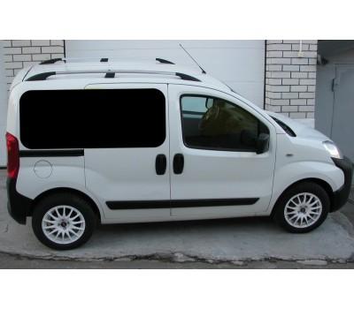 Рейлинги Fiat Fiorino/ Qubo/Peugeot Bipper/Citroen Nemo 08- /Хром /Abs DDTS (DDCNR18)
