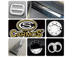 Накладка на пороги Hyundai Santa Fe 2006-2012 4шт Carmos (6450072)